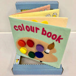 Children's Felt Learning Book (Colour Book)