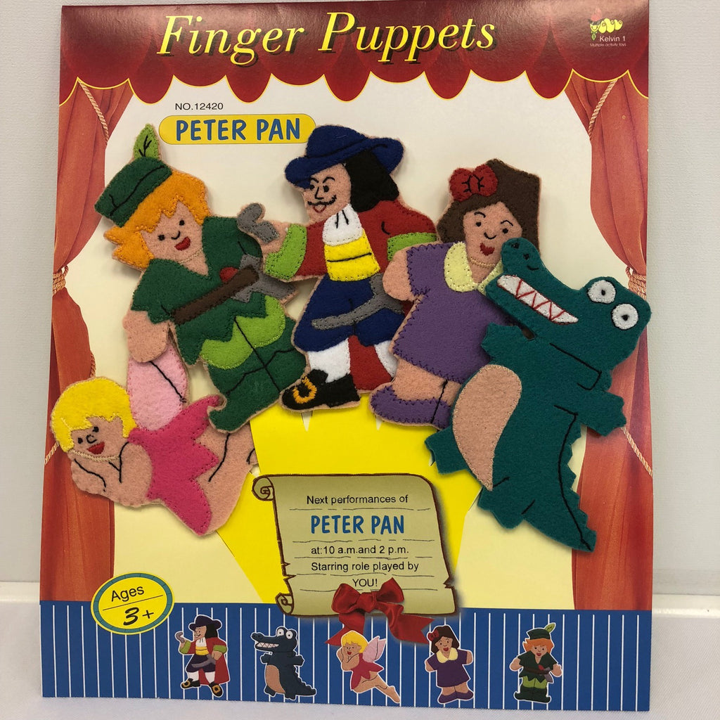Peter Pan Finger Puppets