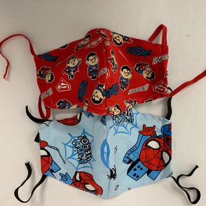 Superhero Cloth Masks