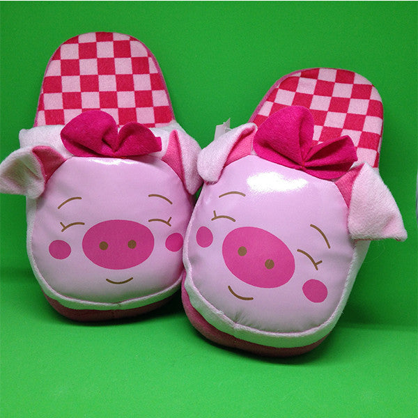 Cute Piggy Children Slippers