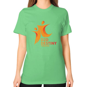Unisex T-Shirt (on woman) Grass - d2ddestiny