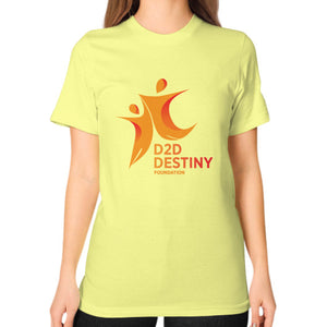 Unisex T-Shirt (on woman) Lemon - d2ddestiny