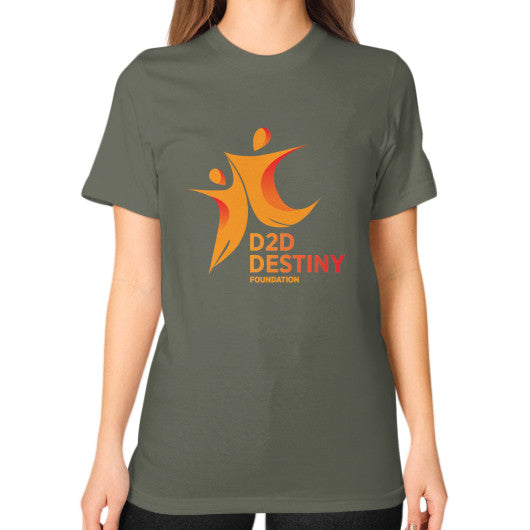 Unisex T-Shirt (on woman) Lieutenant - d2ddestiny