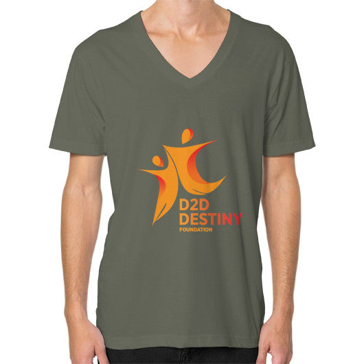 V-Neck (on man) Lieutenant - d2ddestiny