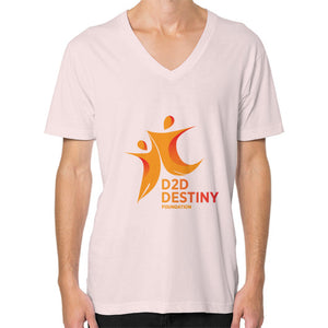 V-Neck (on man) Light pink - d2ddestiny