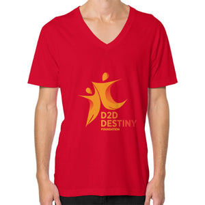 V-Neck (on man) Red - d2ddestiny