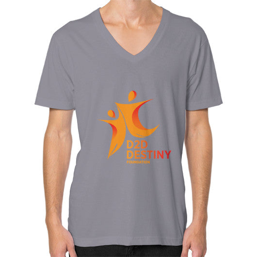 V-Neck (on man) Slate - d2ddestiny