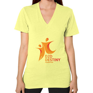 V-Neck (on woman) Lemon - d2ddestiny