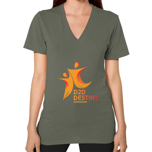 V-Neck (on woman) Lieutenant - d2ddestiny