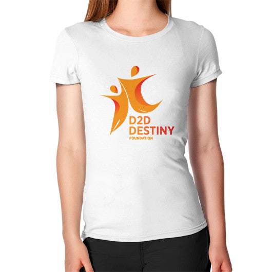 Women's T-Shirt White - d2ddestiny