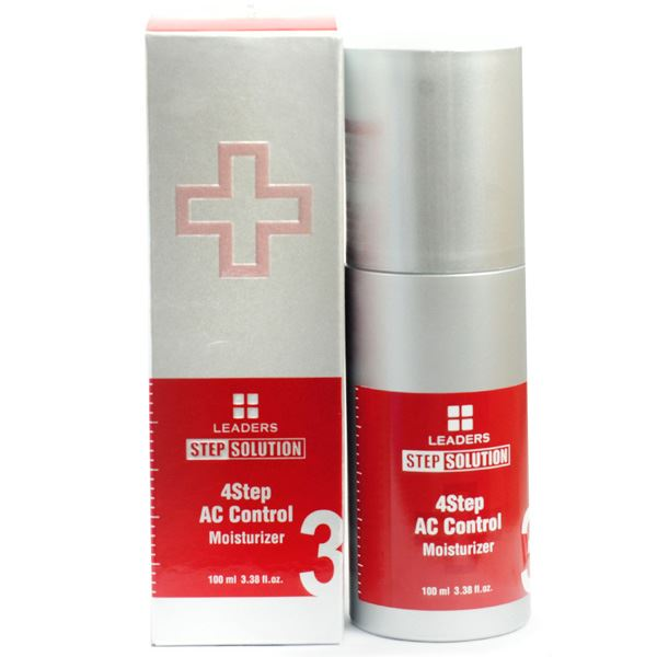 Leaders Step Solution 4 step AC Control Moisturizer