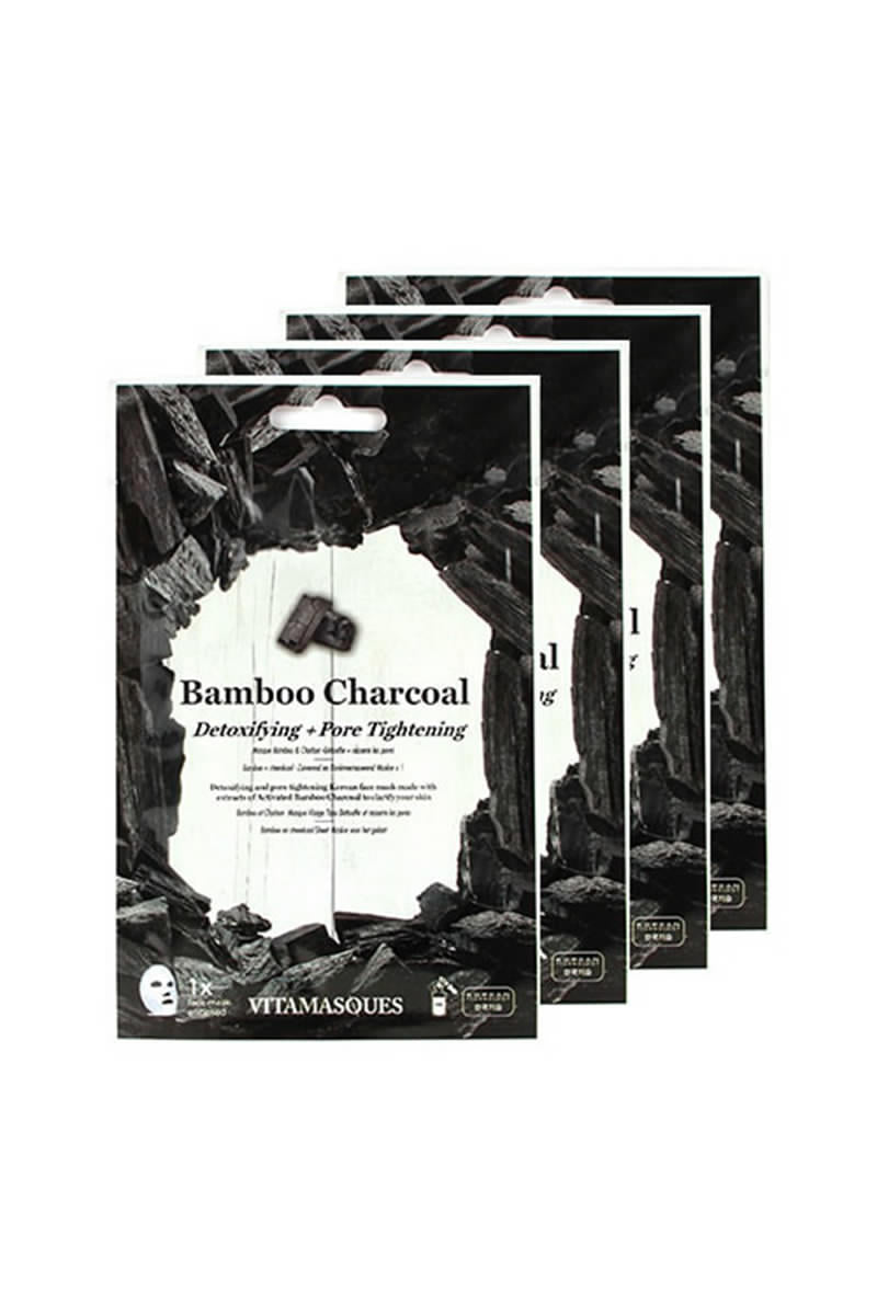 Bamboo Charcoal Multipack Sheet Mask