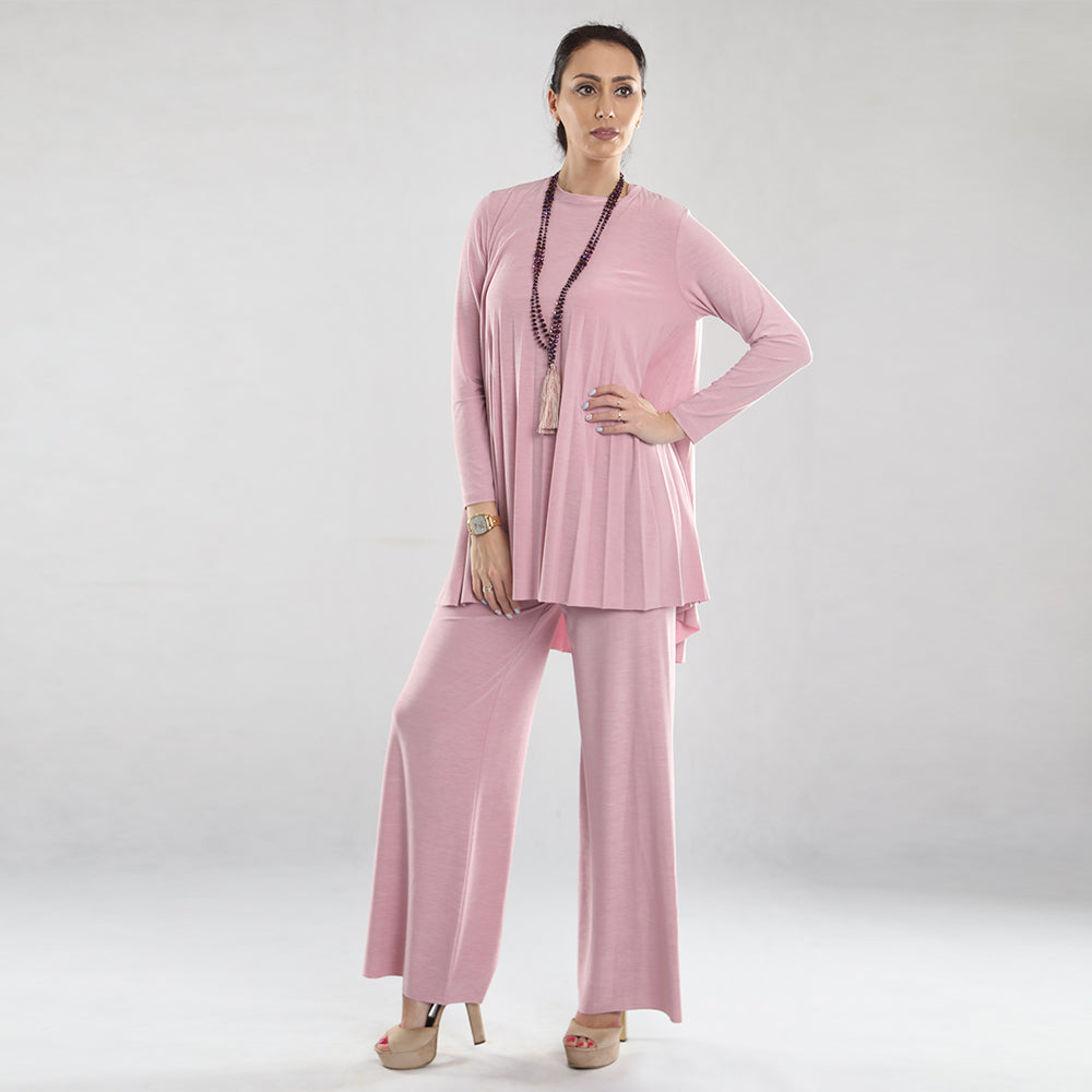 Women Pleated Set