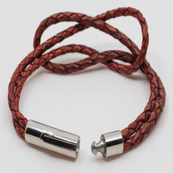 Leather Knotted Bracelets