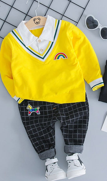 Trendy Baby Boy Clothing Set