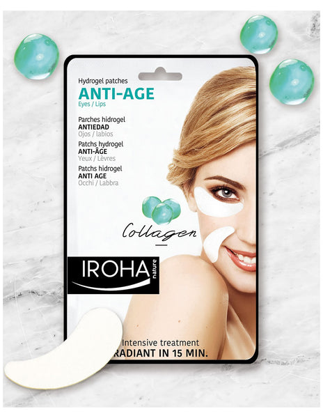 Hydrogel Patches Eye & Lips  Anti Age Collagen