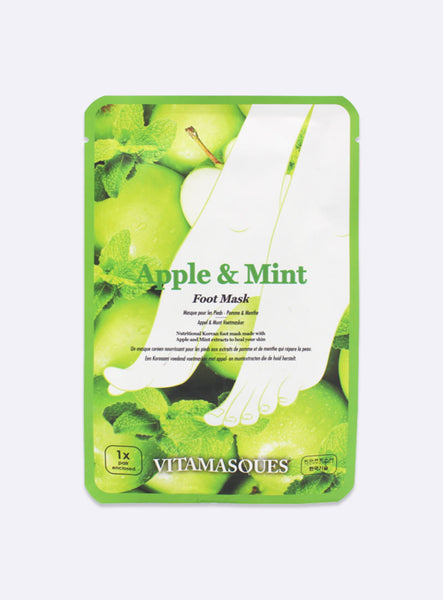 Apple & Mint Foot Mask