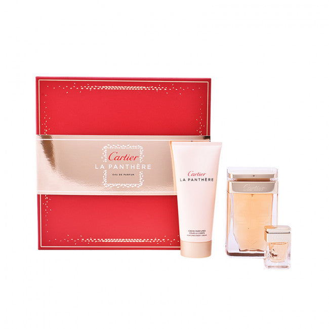 Cartier La Panthere EDP Gift Set for Women