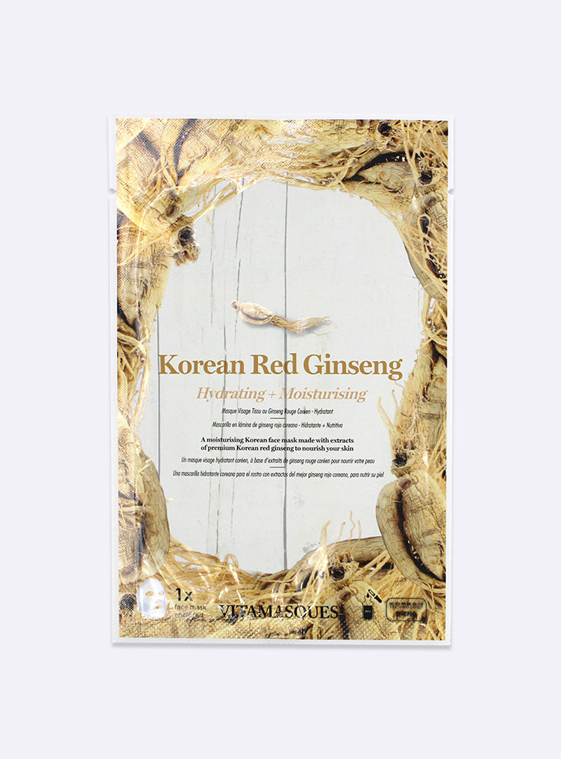 Korean Red Ginseng Sheet Face Mask