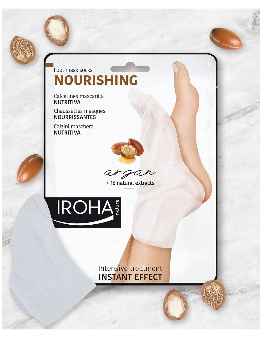 NOURISHING Socks Mask for Feet  Argan