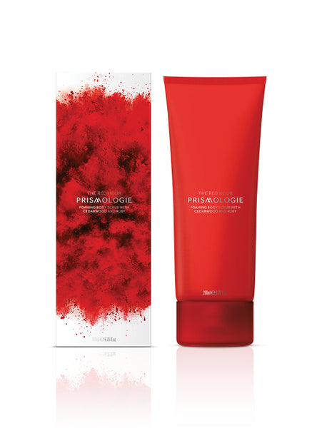 Ruby & Cedarwood Foaming Body Scrub