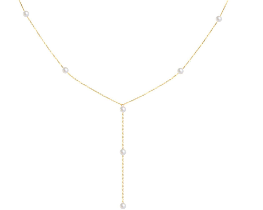 Pearl 18.Ct Gold Necklace