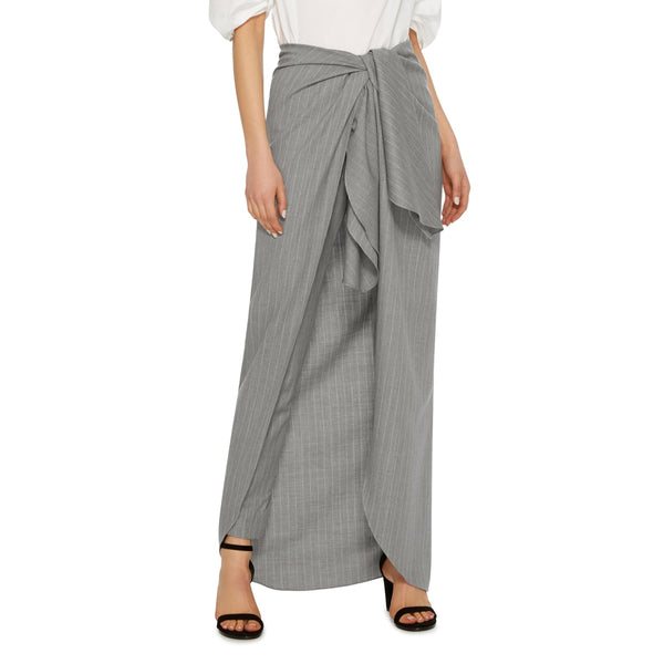 Gray Women Trousers