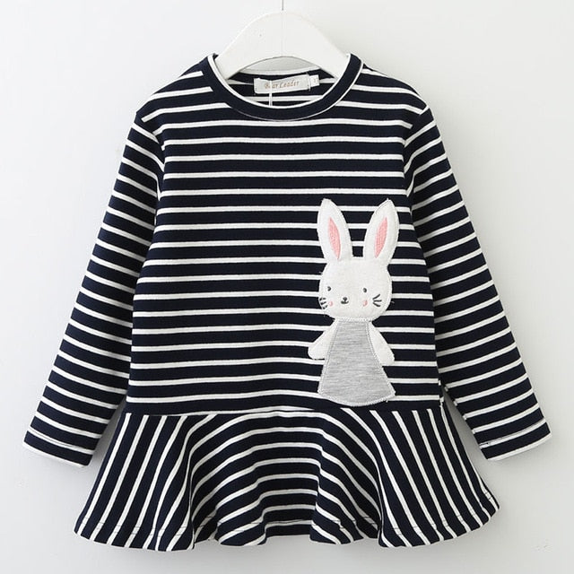 Long Sleeve Bunny Dress