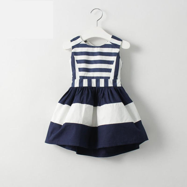 Navy Girl Dress