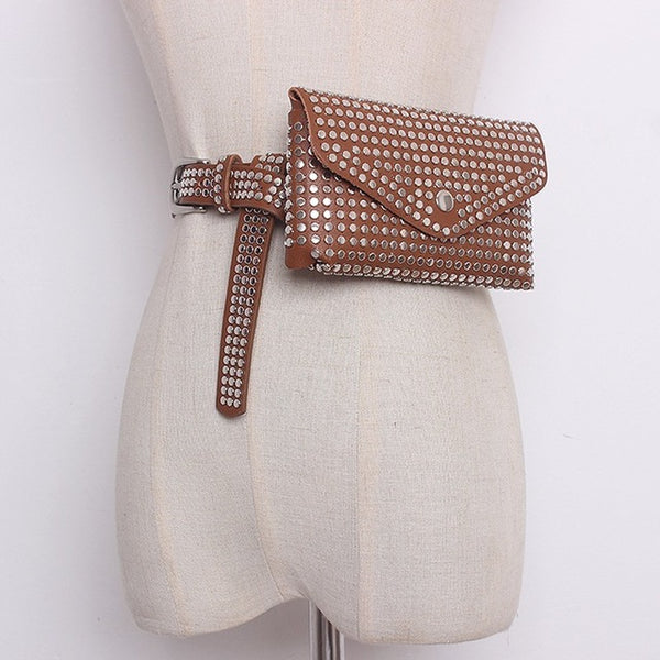 Trendy Dotted Belt Bag