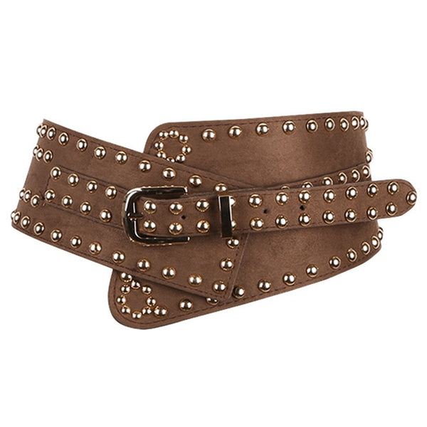Fashionable Rivet Belt