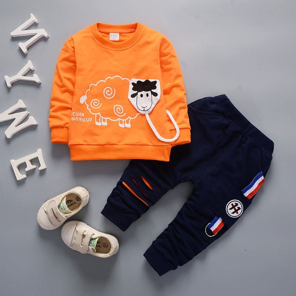 Trendy Boys 2Pc Clothing Set