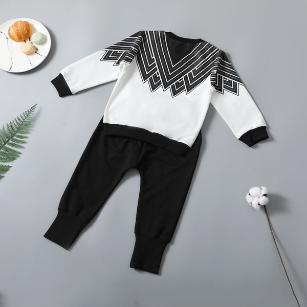Trendy Boy's 2Pc Clothing Set