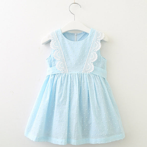 Sleeveless Skyblue Dress