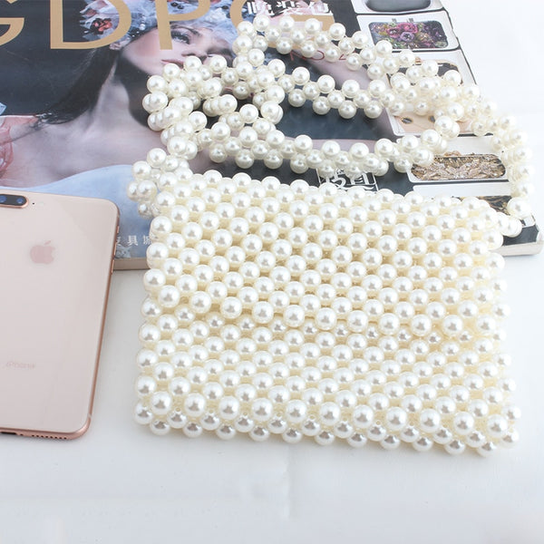Luxurious Pearl Handbag