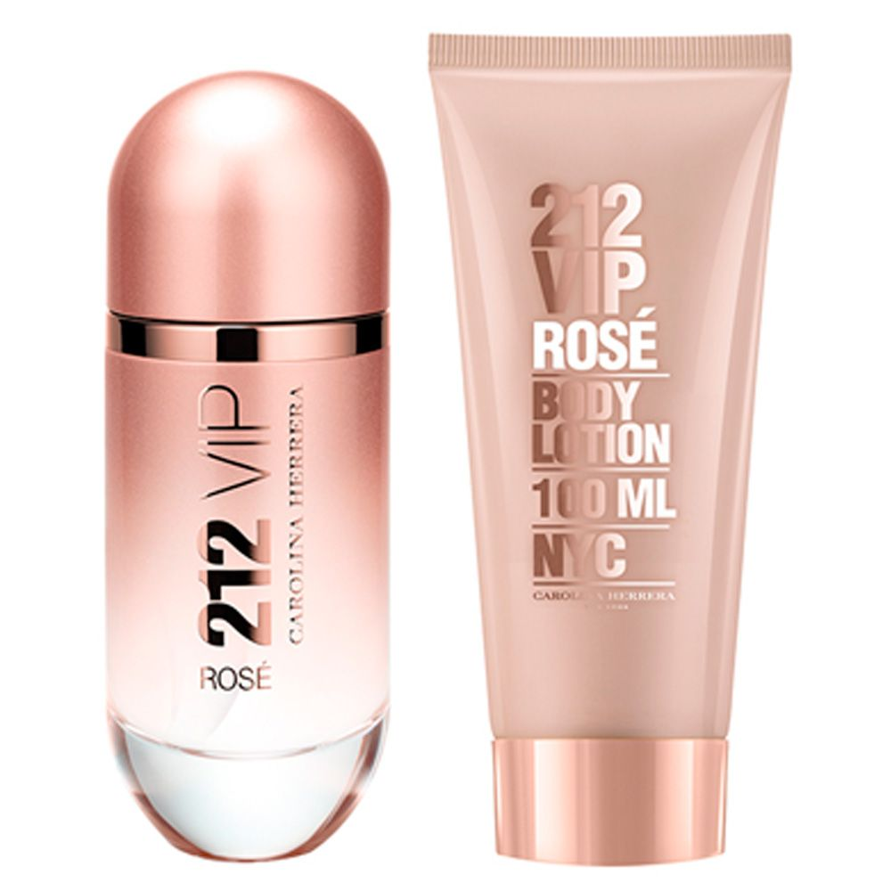 212 Vip Rose Lad EDP SET for Women