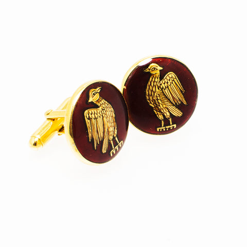 Gold Eagle Cufflinks - Opuline