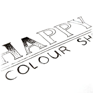 HappyColourShop Handmade creations by Angie Barth: handlettering, mandala art, coloring pages, eco jewelry