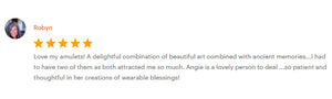 Clients positive reviews about Angie's HappyColourShop