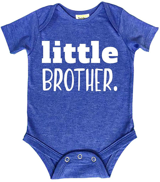 Big Brother Little Brother Shirts | Matching Outfits Sibling Gifts | Baby Set