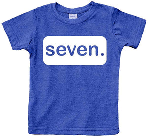 7th Birthday Shirt boy 7 Year Old Seven Tshirt Boys Seventh Birthday boy Shirts