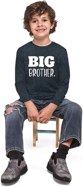 Big Brother Shirt for Toddler | Promoted to Best Big Brother | Announcement Baby Boys