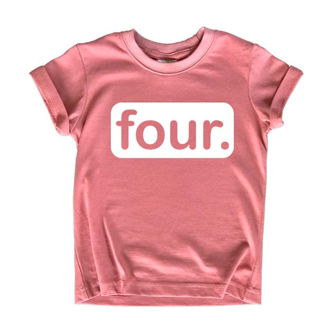 4th Birthday Girl Outfit Shirt | Girls 4 Year Old | Fourth | Four Years Happy Bday Shirts