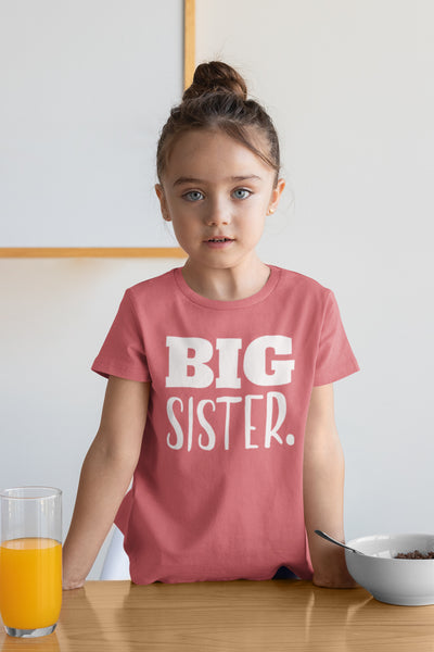 Big Sister Shirt | Big Sister Announcement | Toddler Shirts | Promoted to Girls Outfit