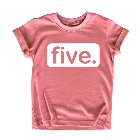 5th Birthday Shirts for Girls | 5 Year Old Shirt | Girl Five Gift | Fifth Tshirt Outfit