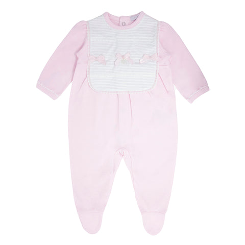 Blues Baby Pink Babygro BB0045