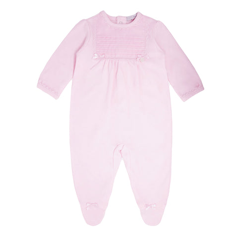 Blues Baby Pink Babygro BB0050