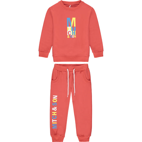 Red Candleriggs Tracksuit