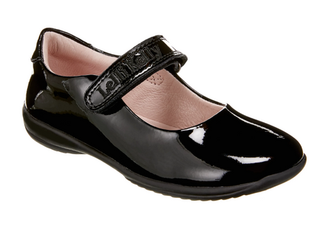 Lelli Kelly Black Patent Classic School Shoe