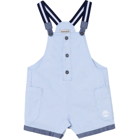 Pale Blue Dungaree and T-Shirt Set  T98287